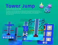 Tower Jump Game