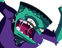 Revista ¡elé! - Terror Characters Frankenstein
