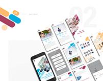 Visual Selling website