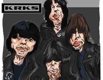 Dibujando a los Ramones by karkussen