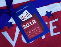 Williams-Sonoma Vote 2012 Towel