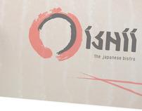 OISHII Japanese Bistro - Identity Design