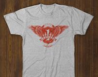The t-shirt idea no 1000 takes flight !