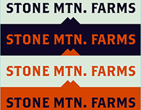 Stone Mountain Farms Branding