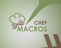 Macros Chef | Healthy food Restaurant Branding