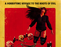 The Satanist 70's Exploitation Horror poster template