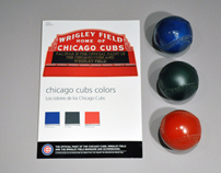 Valspar & Chicago Cubs Color Card