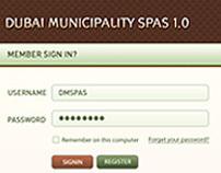 Dubai Municipality Application UI