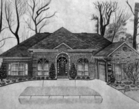 Fine Art: House Drawings
