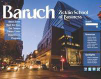 CUNY Baruch Web Page Redesign