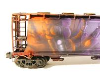 Model Train Painting