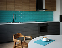 3D concrete tile #6, brand ASHOME