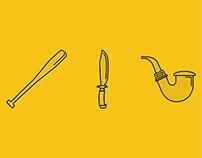 Inglourious Basterds Icons