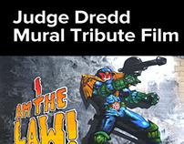 Judge Dredd Mural Tribute Film