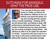 Dutchmar Products- Sail Magazine Ad January 2016