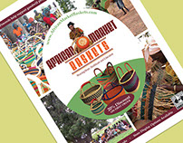 African Market Baskets - Print Advertisement
