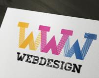 Web Design Logo Template -PSD-