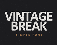 VINTAGE BREAK | SIMPLE FONT