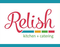 Relish Kitchen + Catering Branding