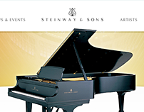 Steinway & Sons Website