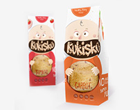 Kukisku Cookies Packaging