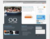 Go Hot Tubs company web site