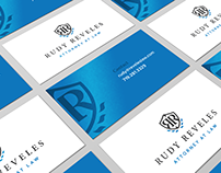 Rudy Reveles Attorney at Law - Logo / Collateral / Web