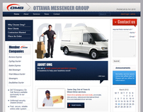company web site for Ottawa Messenger Group