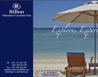 Ticket raffle for Hilton Vilamoura Vacation Club