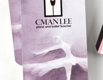 Cman Logo and name card design