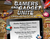 Bandung Indah Plaza | Gadget and Gamers Unite Poster