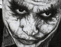 "Making of ""The Joker Portrait"""