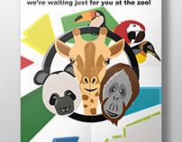 Animal Zoo Poster