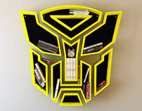 Transformers iron, shelf, design, bookshelf