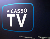 Bancaja Cultural Center. Picasso TV.
