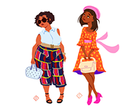 Daily Fashion Illustrations