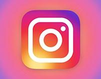 Instagram Design Concept - 2016