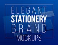 Elegant Stationery Brand Mockups