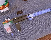 3d vernier caliper