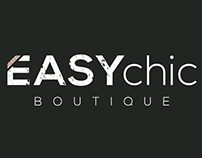 Logo design Easy chik fashio boutique