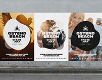 Ostend Beach - rebranding