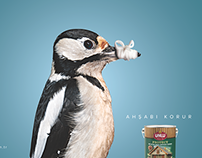 Ünlü Boya - Wood Protector Print Ad