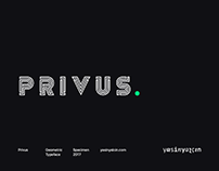 Privus Typeface — Free Demo