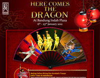Bandung Indah Plaza | Here Comes The Dragon