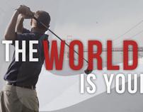 Nike Golf Club Campaign: Print ads