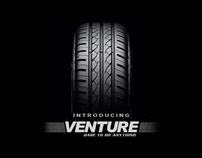 venture tyre, College project 2010