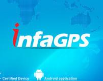 GPS Application UI Design