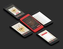 Ring Sizer (Mobile App UI Design)