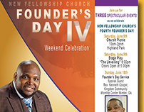 Founder's Day Flyer for NFC Church