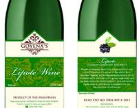 Goyena Wine Label Studies
